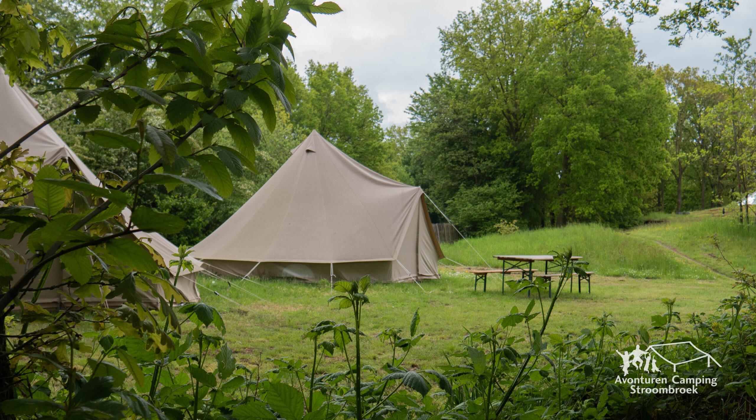 belltent kamperen achterhoek