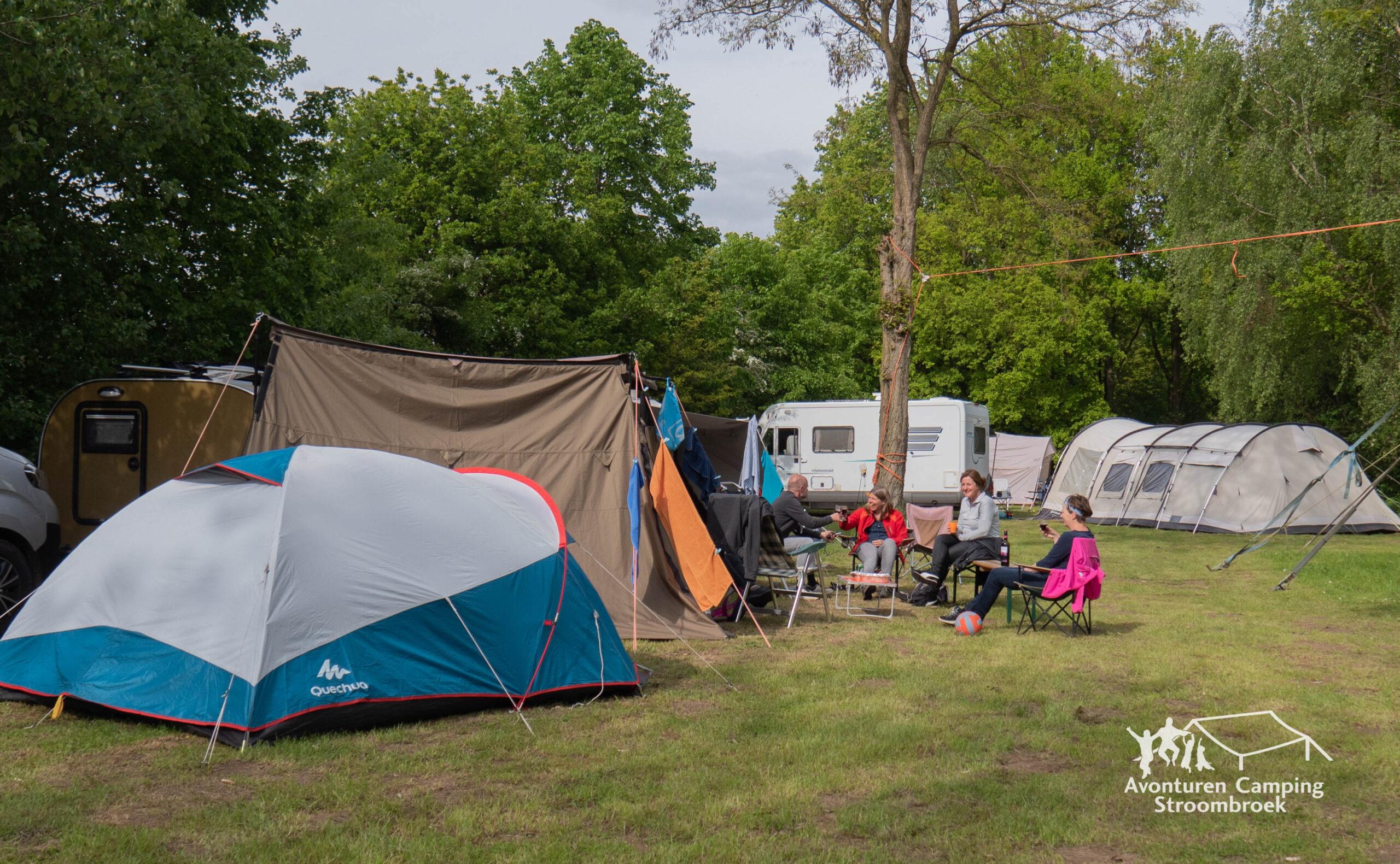 kamperen met eigen stroompunt