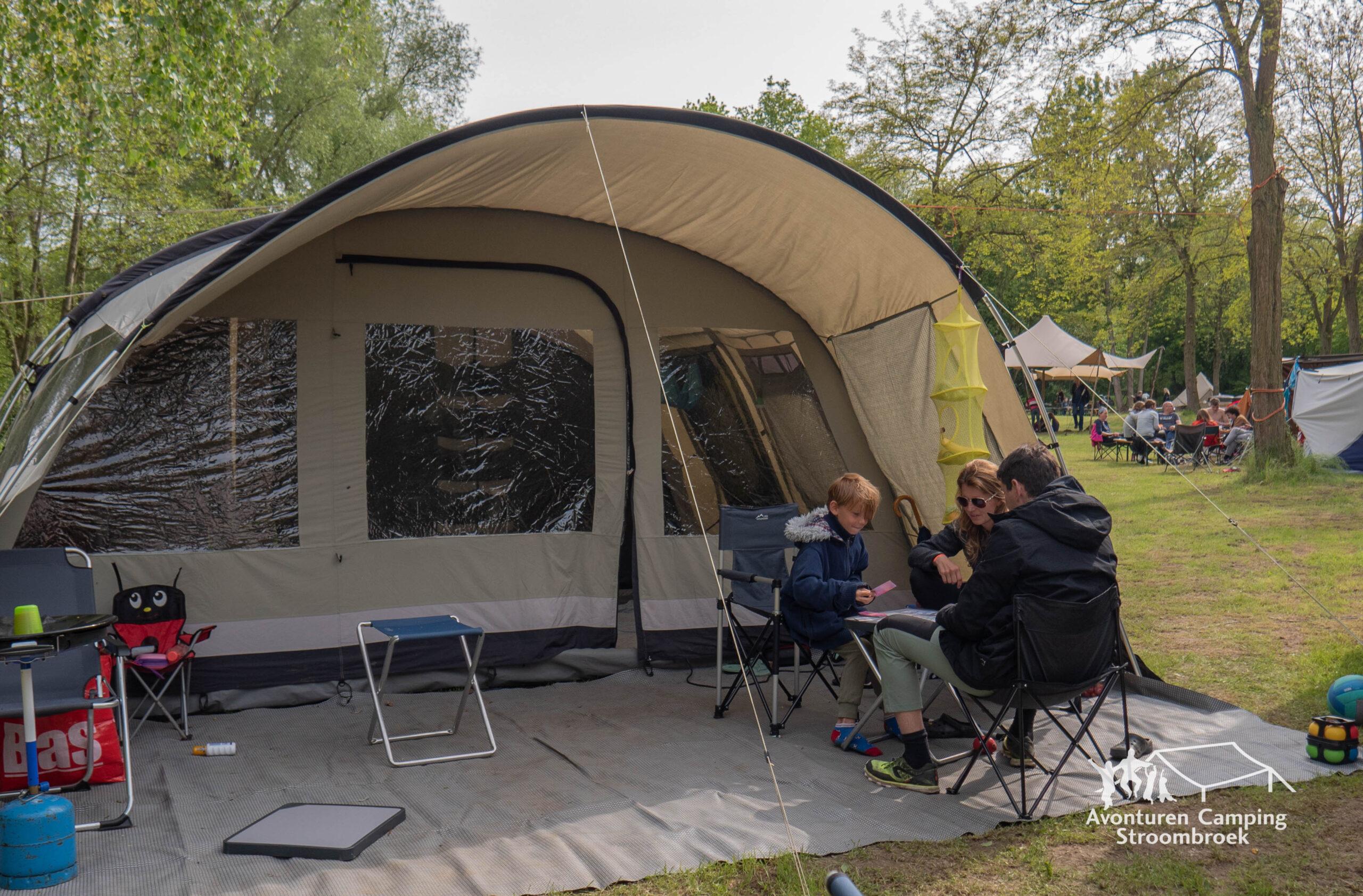 campingplaats zonder eigen stroompunt