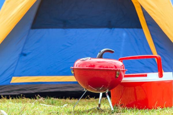 Tent-en-barbecue