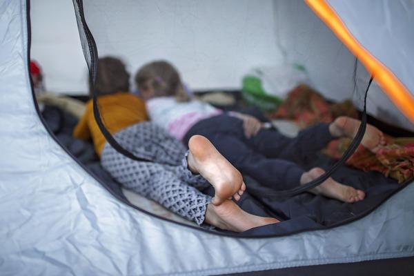 kinderen-kamperen